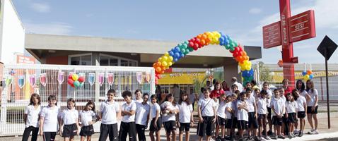 Escola do Sesi-SP em Fernandópolis atenderá 800 alunos nos ensinos fundamental e médio. Foto: Julia Moraes