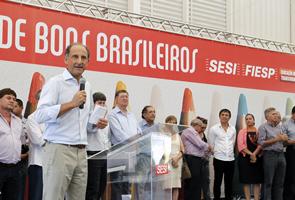 Skaf anunciou também que, a princípio, as Unidades Móveis do Senai-SP atenderão o município