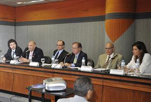 Reunião do Cade na Fiesp debateu pontos da nova Lei Antitruste, que entra em vigor no final de maio. Foto: Everton Amaro