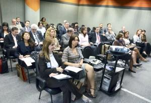 Público presente ao ciclo de palestras do Programa de Gestão Hospitalar, realizado pelo Comsaude/Fiesp. Foto: Helcio Nagamine
