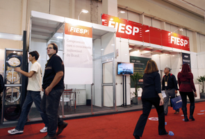 Estande do Deseg/Fiesp no Exposec