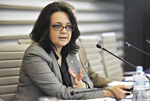 Symone Christine de Santa Araújo, diretora do Departamento de Gás Natural do Ministério de Minas e Energia. Foto: Everton Amaro
