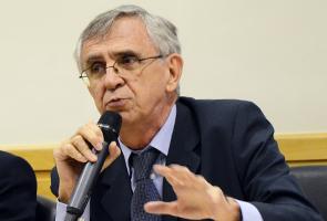 O economista Eduardo Augusto Guimarães, em encontro do Grupo de Estudos de Direito Concorrencial da Fiesp/Ciesp