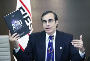 O PhD José Cordeiro, conselheiro da Singularity University, durante reunião do Conic da Fiesp