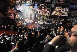 Público confere palestras do TEDxRio+20, no primeiro dia do Humanidade 2012, no Forte Copacabana, no Rio