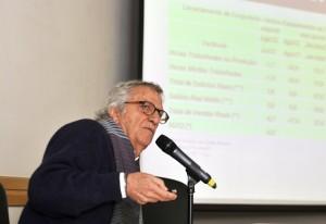 Diretor de Economia da Fiesp, Paulo Francini, durante coletiva do INA