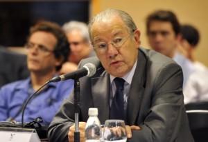 Embaixador Rubens Barbosa, presidente do Coscex da Fiesp. Foto: Everton Amaro