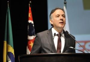 10º Construbusiness - Ministro das Cidades, Aguinaldo Ribeiro. Foto: Everton Amaro