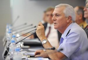 Comdefesa - Chefe do Estado-Maior da FAB, Aprígio Eduardo de Moura Azevedo. Foto: Everton Amaro