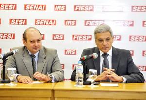 CAIP - Paulo Schoueri e Eduardo San Martin. Foto: Everton Amaro/Fiesp