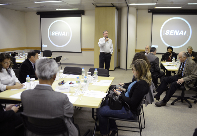 A reunião do Conic: inovar para competir no mercado externo. Foto: Everton Amaro/Fiesp