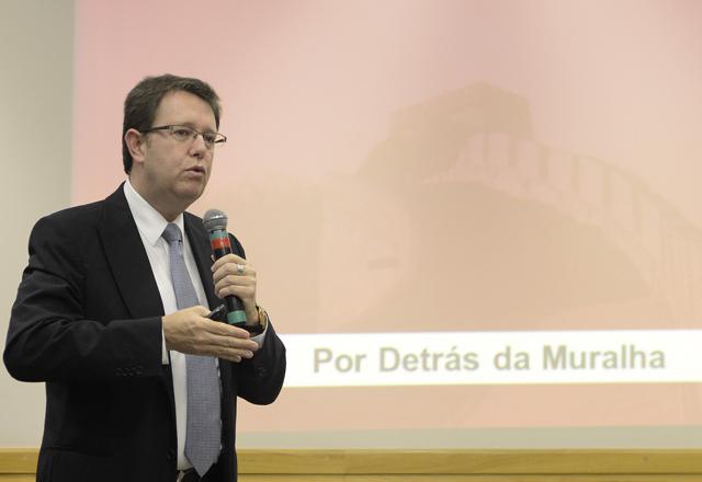 Machado, da ChinaInvest: governo chinês quer mais importados no país. Foto: Helcio Nagamine/Fiesp