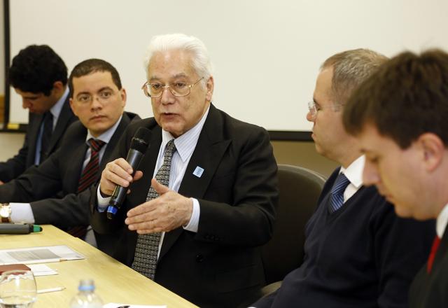 Sergio Ferraz foi o convidado da reunião do Grupo de Estudos de Direito Regulatório. Foto: Julia Moraes/Fiesp