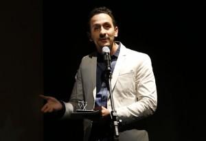 Irandhir Santos: melhor ator por seu papel em 'Febre do Rato'. Foto: Julia Moraes