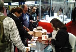 Lançamento do livro com receitas de pães nesta terça-feira (23/07), na Fipan. Foto: Divulgação