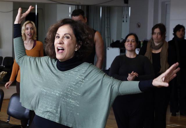 Stella Miranda: pronta para ser a madrinha do musical. Foto:  Ayrton Vignola/Fiesp