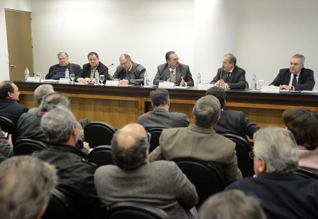 Reunião do Comin: novas resoluções para mineração em debate. Foto: Everton Amaro/Fiesp