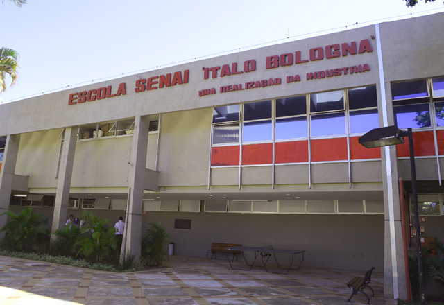 A Escola Senai Ítalo Bologna, referência em acessibilidade. Foto: Everton Amaro/Fiesp