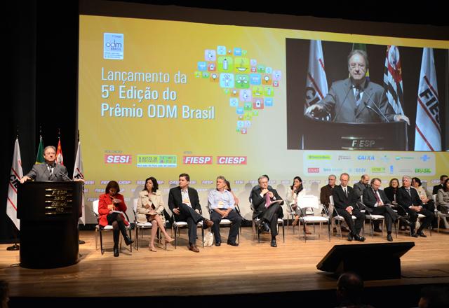 Loures fez a abertura oficial do lançamento e Seminário da 5ª Edição do Prêmio ODM Brasil. Foto: Helcio Nagamine/Fiesp