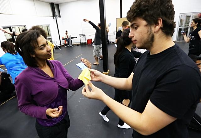 As oficinas do Teatro Musical na Vila Leopoldina: conteúdos integrados para a formação dos profissionais. Foto: Divulgação