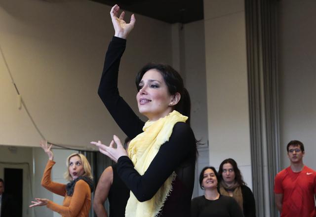 Sara: orgulho de interpretar Jane Valadão no musical do Sesi-SP. Foto: Ayrton Vignola/Fiesp