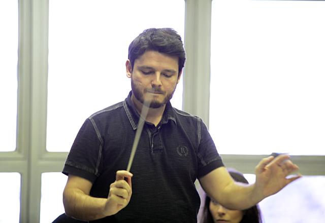 Bauzys: ideia de construir um mezanino para a orquestra vai além da estética. Foto: Everton Amaro/Fiesp