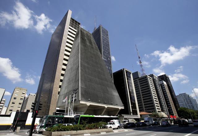 O prédio da Fiesp: referência arquitetônica para a cidade e para o país. Foto: Julia Moraes/Fiesp