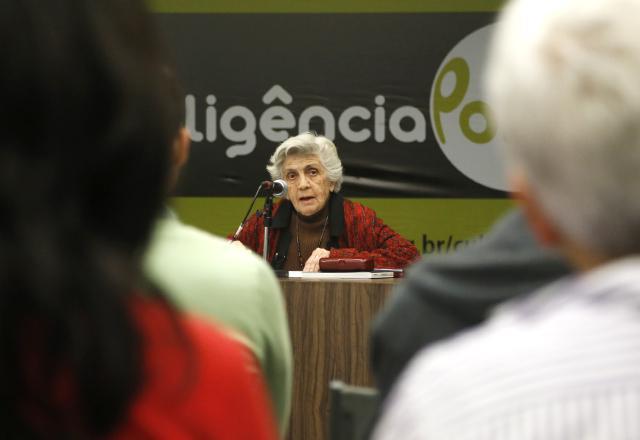 Maria Thereza Vargas: histórias de trabalho e amores de Cacilda Becker. Foto: Julia Moraes/Fiesp