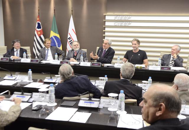 A reunião do Cosema foi conduzida pelo presidente do Conselho, Walter Lazzarini. Foto: Helcio Nagamine/Fiesp