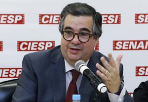 Sampaio Filho foi o coordenador da reunião do Cosag nesta segunda-feira (14/10). Foto: Beto Moussalli/Fiesp