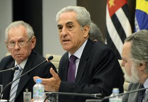 Lazzarini conduziu a reunião do Cosema nesta terça-feira (22/10). Foto: Helcio Nagamine/Fiesp