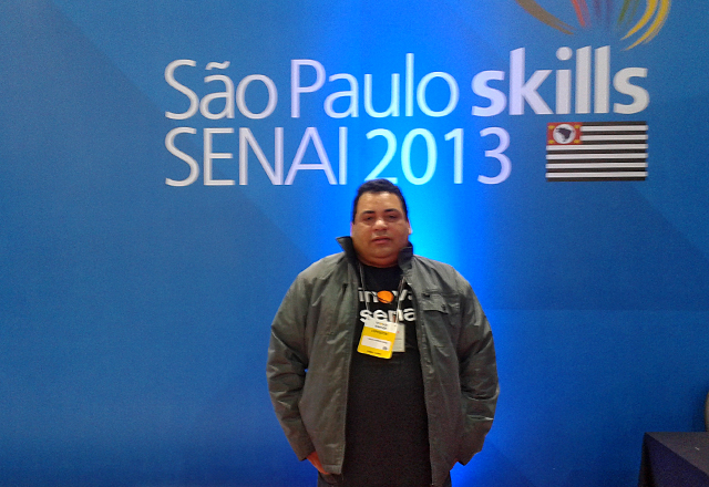 O professor Carlos Ortega: depois do segundo lugar em 2011, a vitória em 2013. Foto: Arquivo Pessoal