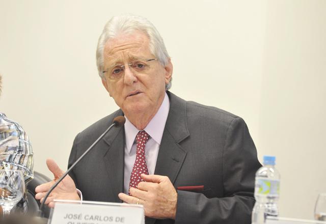 "Oliveira Lima, coordenador do projeto"". Foto: Renan Felix/Fiesp"