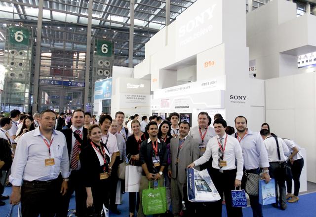Os empresários da missão à China na feira CPSE 2013: as mais recentes tecnologias do setor. Foto: Arquivo Fiesp