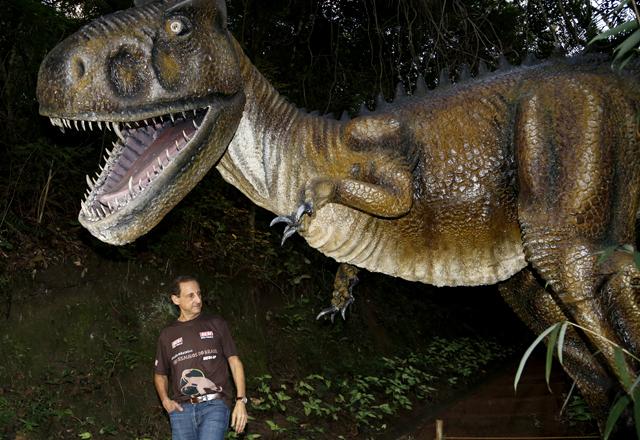 Paulo Skaf na inauguração do Circuito Educativo Dinossauros do Brasil, em Votorantim. Foto: Julia Moraes/Fiesp