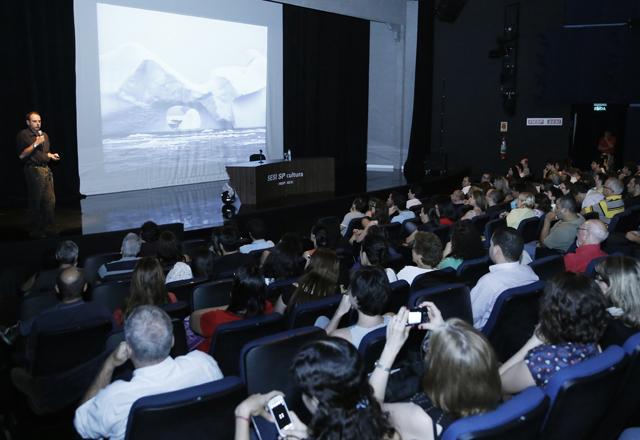 Klink no Teatro do Sesi-SP: apresentação foi a que atraiu mais público no ano no InteligênciaPontoCom. Foto: Beto Moussalli/Fiesp