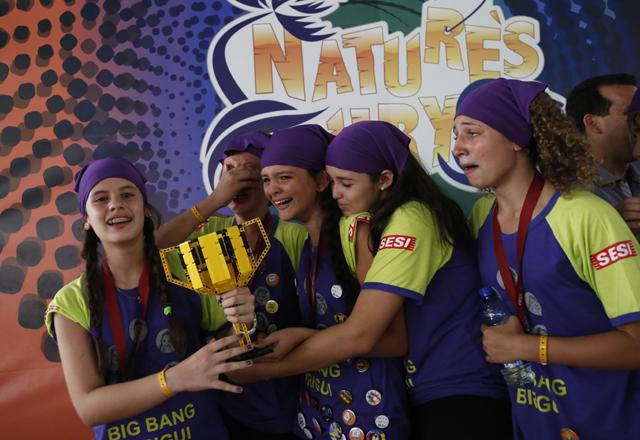 O torneio em Presidente Epitácio: soluções inovadoras para ajudar comunidades. Foto: Everton Amaro/Fiesp