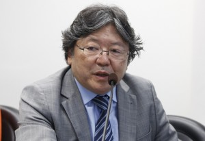 """Hirose: """"as pequenas e médias empresas que se prepararem para esse novo mercado terão uma vantagem competitiva"""". Foto: Tâmna Waqued/Fiesp"""