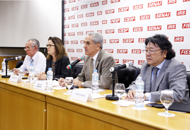 A reunião do Cosema: Prêmio Fiesp de Mérito Ambiental em debate. Foto: Tâmna Waqued/Fiesp