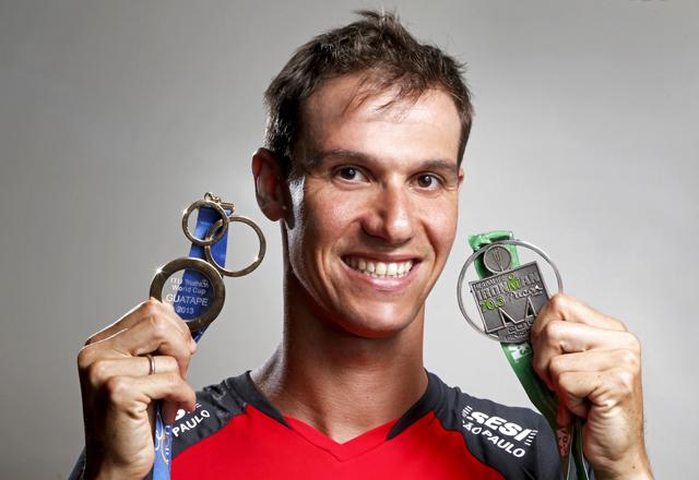 Colucci: atleta do Sesi-SP se diz pronto para encarar desafios novos desafios. Foto: Everton Amaro/Fiesp