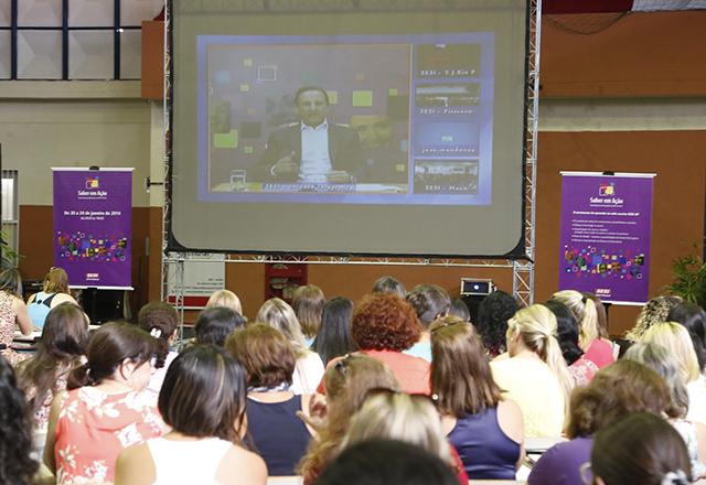 Skaf participou da abertura do Saber em Ação por videoconferência: formando cidadãos. Foto: Tâmna Waqued/Fiesp