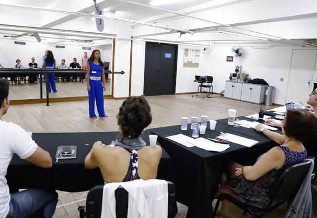 Audição do Teatro Musical: aptidão musical, para dança, canto e atividade corporal em análise. Foto: Tâmna Waqued/Fiesp