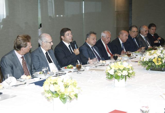 O encontro de empresários na Fiesp nesta terça-feira (11/02). Foto: Everton Amaro/Fiesp