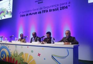 O seminário na Fiesp: debate sobre a necessidade de integração das ações de segurança para a Copa. Foto: Everton Amaro/Fiesp