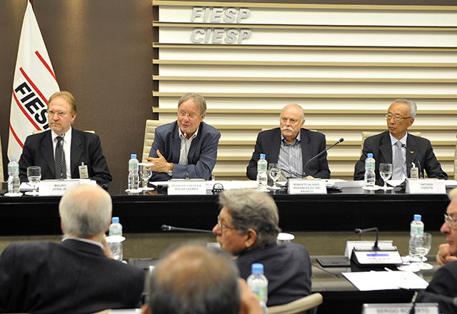 A reunião do Conic: mais debates e estudos sobre inovação em 2014. Foto: Helcio Nagamine/Fiesp