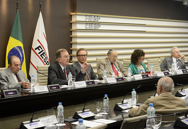 A reunião do Coscex: negociações multilaterais de comércio em debate na Fiesp. Foto: Helcio Nagamine/Fiesp
