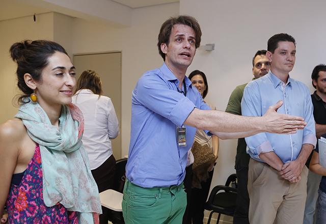 Baccic: ato de amor ao teatro brasileiro e uma ação de responsabilidade social. Foto: Tâmna Waqued/Fiesp