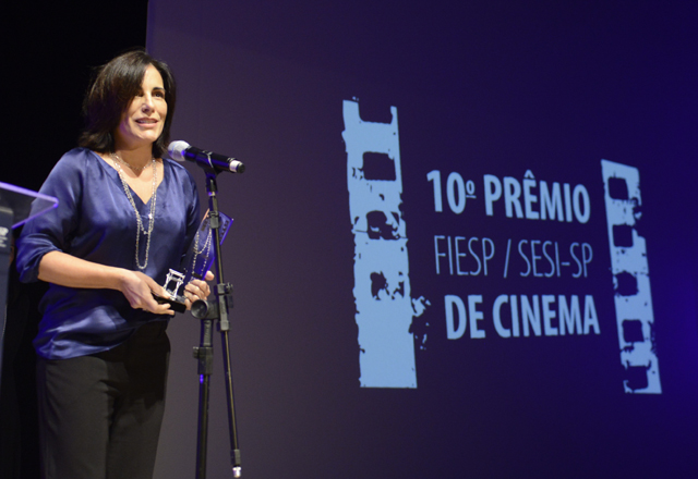Glória: orgulho por ter interpretado Lota Macedo de Soares no cinema. Foto: Everton Amaro/Fiesp