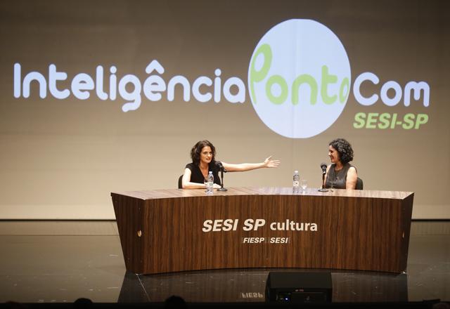 Denise, à esquerda, e Tata: parceria afinada no cinema. Foto: Everton Amaro/Fiesp