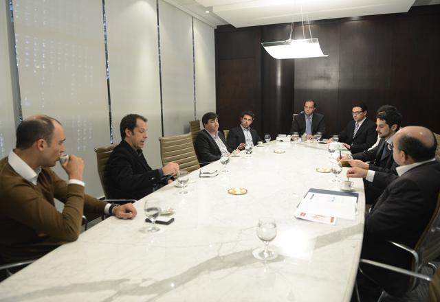 A reunião com os vencedores do Acelera e os investidores na Fiesp: boas possibilidades. Foto: Helcio Nagamine/Fiesp